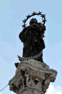 statua immacolata