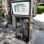 pompa benzina abbandonata
