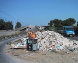 bretella villabate rifiuti