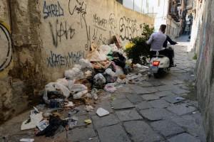 rifiuti vucciria