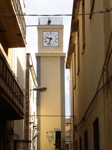 orologio torre villabate