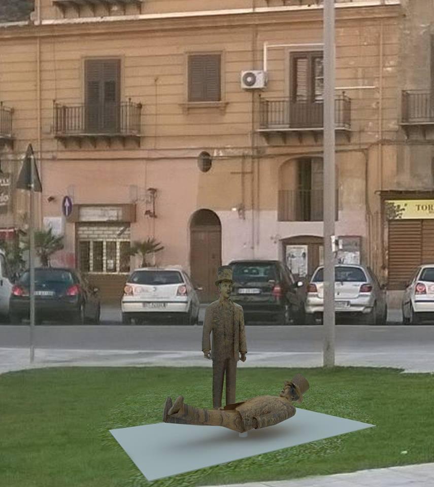 statua sant'anna al capo