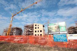 Le nuove costruzioni a Granarolo