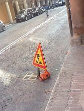 Il cartello in via Santo Stefano