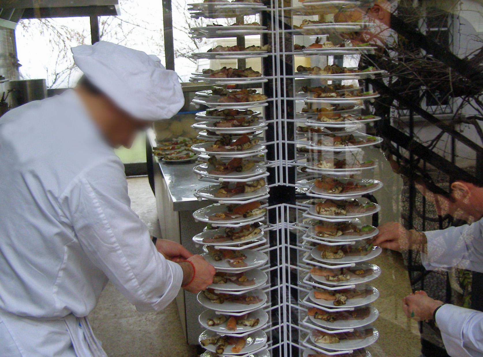 Il servizio di catering nel carcere di Bollate
