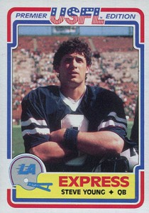 1984-Topps-USFL-Steve-Young