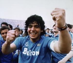 Diego Maradona, Naples, Italy