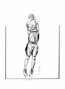 Bryant nel disegno di Italo Mattone