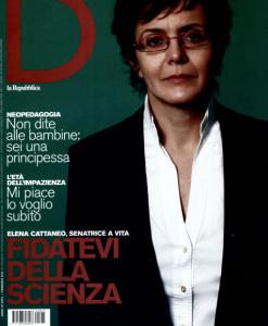 Elena Cattaneo su D