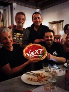 La famosa pizzeria Sorbillo di Napoli ha creato una pizza per la tappa Next della Repubblica delle Idee