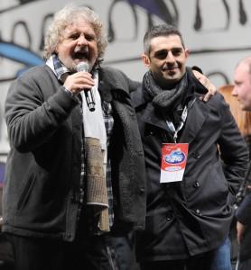 ++ M5S: palco vietato per Pizzarotti al Circo Massimo ++