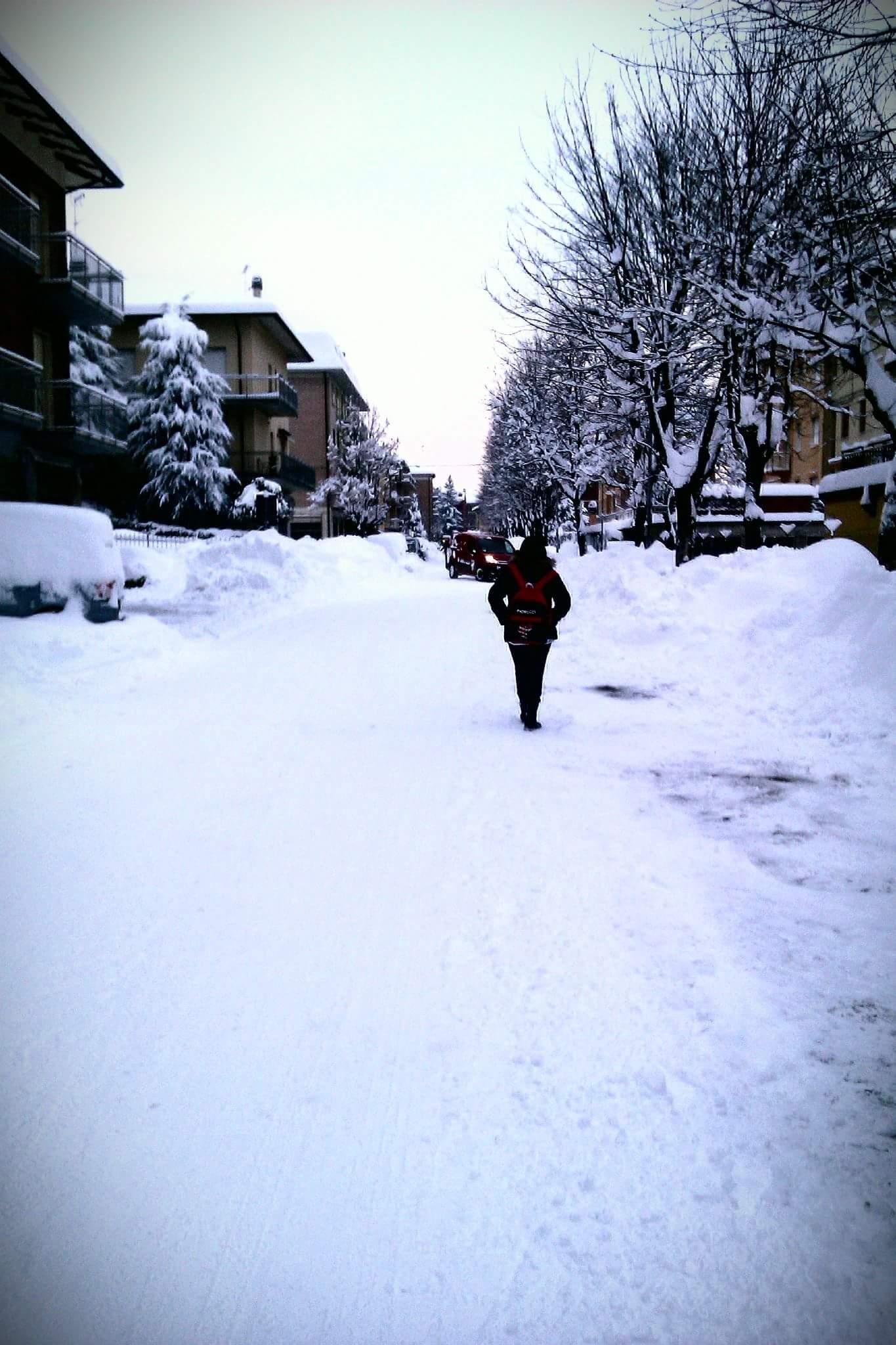 è bastata la neve