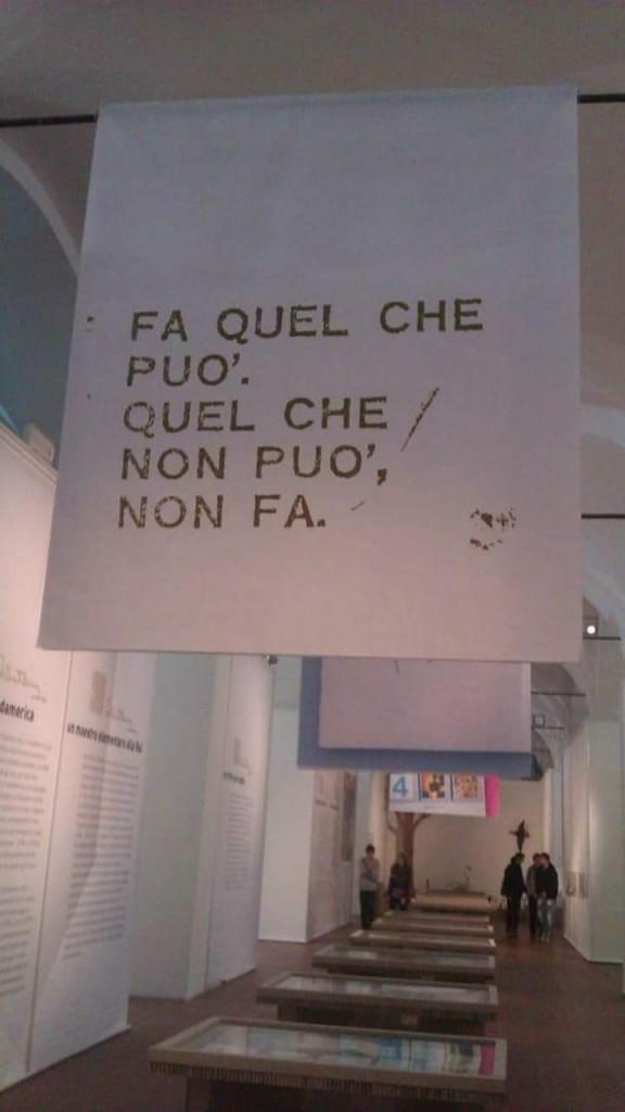Mostra Maestro Manzi Foro Boario di Modena 2012