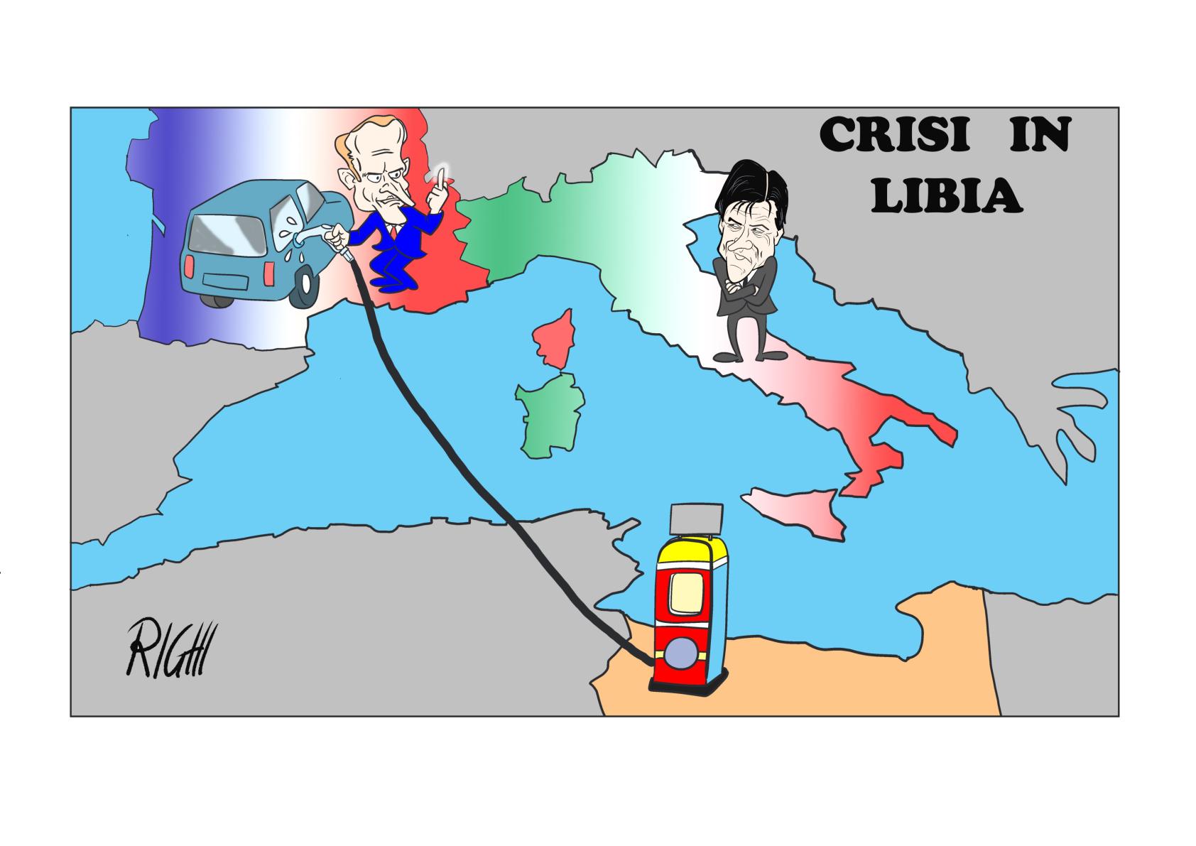 LIBIA CON BORDO
