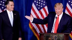 Ho scelto Mitt: l'endorsement di Trump per Romney
