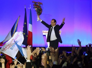 FRANCE ELECTIONS HOLLANDE VOTE