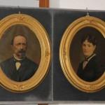 a1 i quadri donati da Attilio Maseri, il conte Francesco di Toppo e la maglie Margherita Ciconi Beltrame