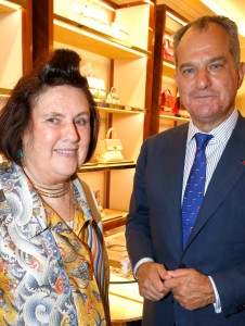 Re Opening Salvatore Ferragamo Boutique Montaigne