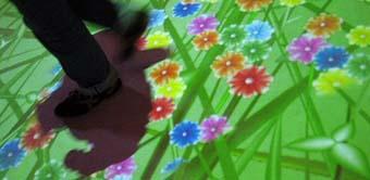 """Pavimento interattivo, particolare – Immagine da """"ICTblog.it"""""""