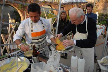 Il Food Designer Montefusco all'evento Nidi d'Uomo_Foto di Davide Forti