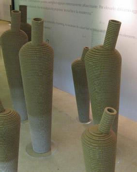 Vasi in cartone riciclato 'P-One' - Foto di Tiziana Ronchi