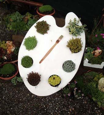 Tavolozza ... di piante - Foto di Patrizia Pozzi