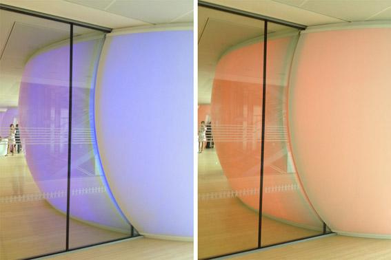 Giochi di colore e forme al MUSE di Trento - foto di Patrizia Pozzi
