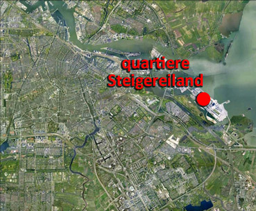 Quartiere Steigereiland - immagine di Google Earth