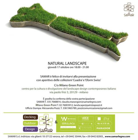 Milano Green Point presenta Natural Landscape Design