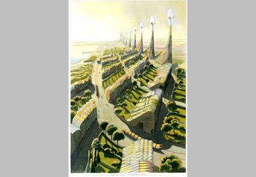 """Una """"Città vegetale"""" di Luc Schuiten - da """"www.fadwebsite.com"""""""