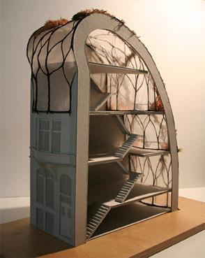 "Un progetto di Luc Schuiten - da ""www.vegetalcity.net"""