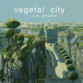 """Vegetal City di Luc Schuiten - da """"www.vegetalcity.net"""""""