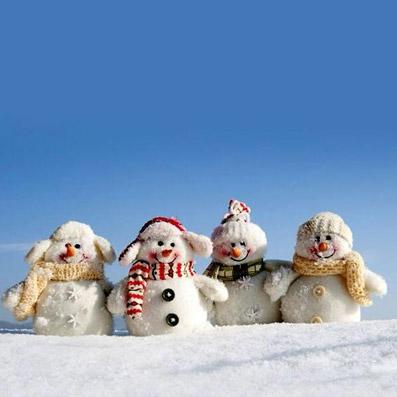 Pupazzi di neve - Foto proprietà di Apple
