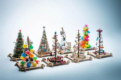 Una foresta di TreeBox natalizi!