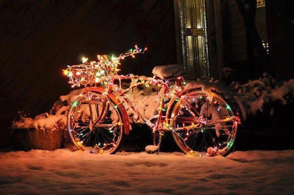 """Bicicletta di Natale! - da """"www.bioradar.net"""""""