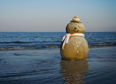 """Pupazzo natalizio...nell'emisfero australe! - da """"www.marotochi.it"""""""