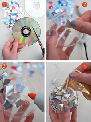 """Sfere natalizie di CD! - da """"www.pinterest.com"""""""