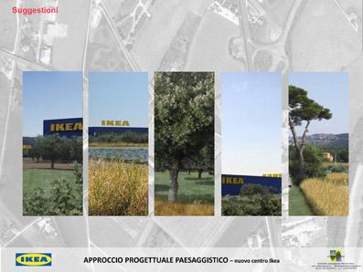 Mitigazione ambientale con gli ulivi - Elaborato dello Studio Pozzi