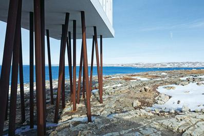 """Fogo Island Inn - dal sito """"www.domusweb.it"""""""