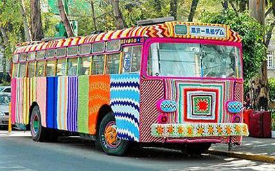 """Bus...di lana! - dal sito """"www.mustlook.com"""""""