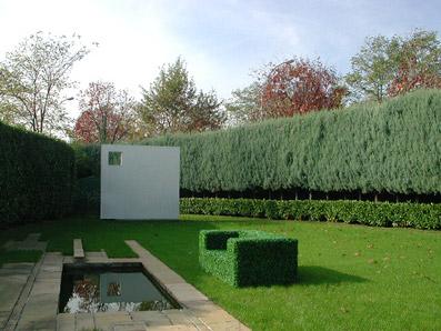 Giardino privato per una villa in Lombardia - Foto di proprietà dello Studio Pozzi