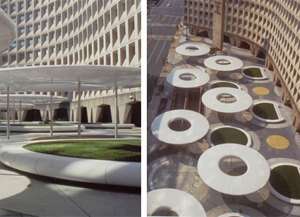 Hud plaza improvements, washington DC 1998 -  doppia