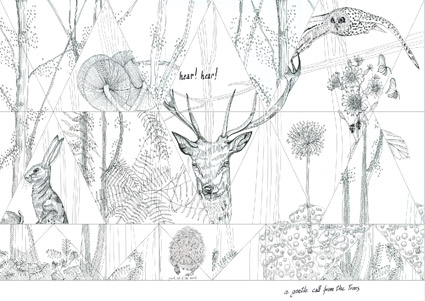 Woodland-carta-da-parati-per-Wall&deco-2015