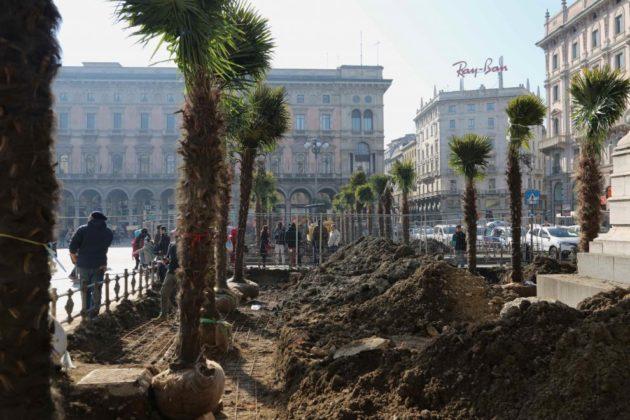 piazza-duomo-Milano-palme-2-630x420