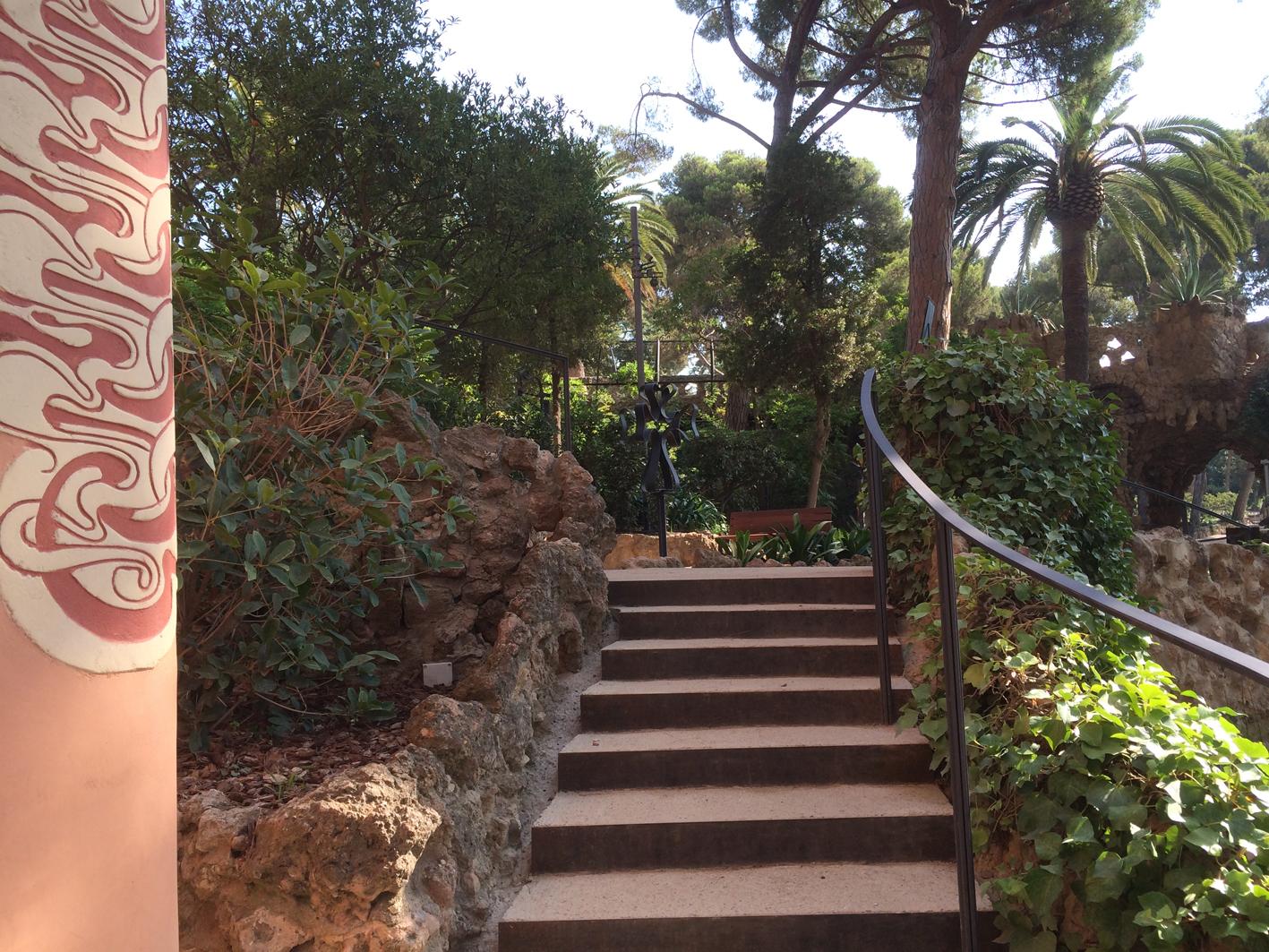 Casa Museu Gaudí Garden - Park Güell, Barcelona