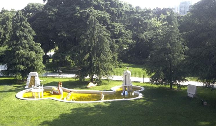 Giardino Triennale, I Bagni Misteriosi Giorgio De Chirico Giorgi de Chirico