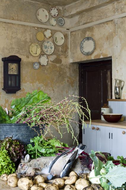 La cucina della country house Durslade Farm, Somerset