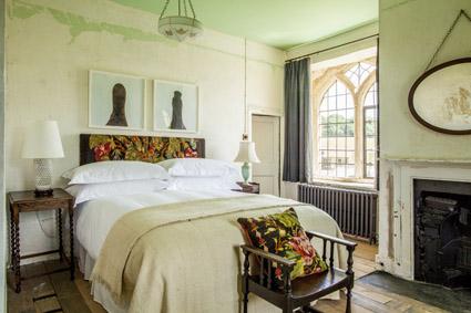 Una-della-sei-camere-della-country-house-Durslade-Farm-Somerset