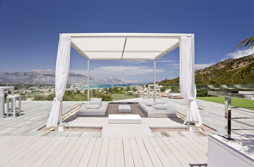 6) Sha Wellness Clinic, un gazebo di Gandia Blasco