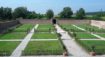 _Borgo di Sabbioneta_Mn, il restaurato 'giardino segreto' di Vespasiano Gonzaga